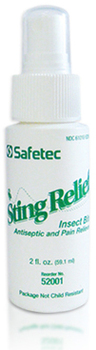Safetec Sting Relief Spray, 2oz