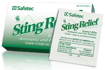Safetec<sup>®</sup> Sting Relief