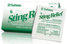 Safetec Sting Relief Wipes