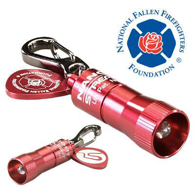 Fallen Firefighter Red Nano Light<sup>®</sup> Keychain Flashlight