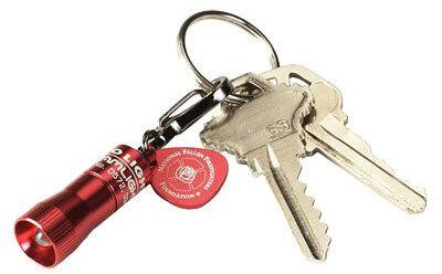 Fallen Firefighter Red Nano Light<sup>®</sup> Keychain Flashlight