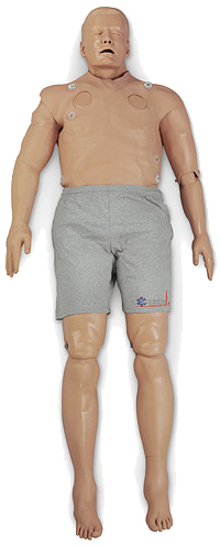 Simulaids SMART STAT Basic Manikin with iPad<sup>®</sup> Control