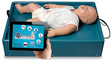 Simulaids STAT Baby Advanced Manikin with iPad<sup>®</sup> Control