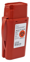 Covidien SharpSafety<sup>™</sup> Transportable Sharps Container, 1qt