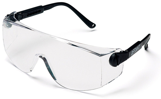 Pyramex<sup>&reg;</sup> Defiant Safety Glasses, Clear Lens, Black Frame