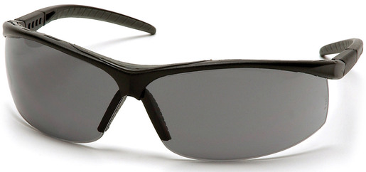 Pyramex® Pacifica Protective Eyewear, Black Frame, Gray Lens