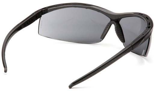 Pyramex® Pacifica Protective Eyewear, Black Frame, Gray Lens
