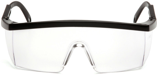 Pyramex<sup>&reg;</sup> Integra Protective Eyewear Safety Glasses, Black Frame