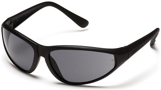 "Pyramex<sup>®</sup> ""The Zone"" Protective Eyewear Safety Glasses, Smoke Lens, Black Frame"