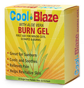 Cool Blaze Pain Relieving Gel with Aloe Vera