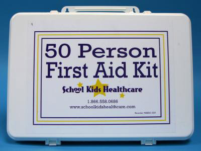 First Aid Kit, 50-person