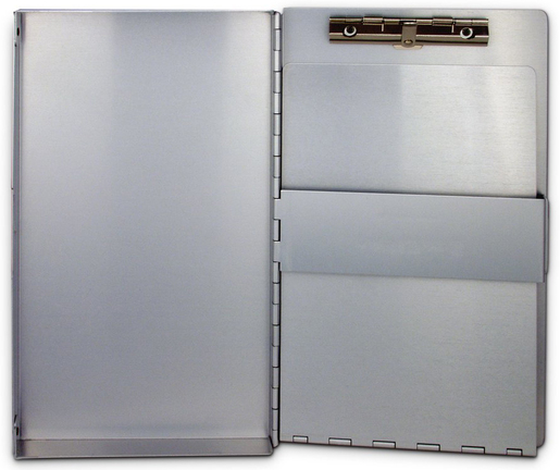"""Saunders SnapPak<sup>®</sup> Clipboard, Side-open, 8 1/2"""" x 12"""""""