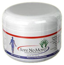 Sore No More Natural Pain Relieving Gel