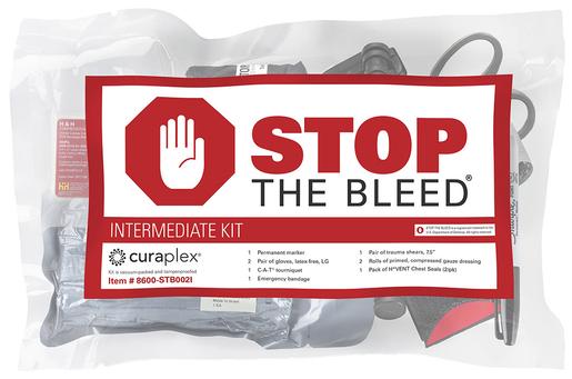 Curaplex<sup>&reg;</sup> Stop the Bleed<sup>&reg;</sup> Intermediate Kit with SAM XT Tourniquet