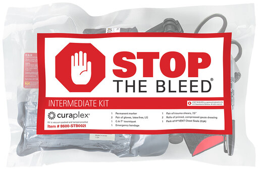 Curaplex<sup>®</sup> Stop the Bleed<sup>®</sup> Intermediate Kit with C-A-T<sup>®</sup> Tourniquet