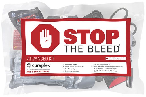 Curaplex<sup>®</sup> Stop the Bleed<sup>®</sup> Advanced Kit with SOF-T Tourniquet