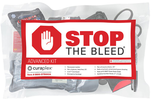 Curaplex<sup>®</sup> Stop the Bleed<sup>®</sup> Advanced Kit with C-A-T<sup>®</sup> Tourniquet