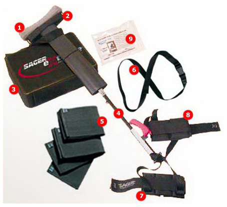 Sager<sup>®</sup> Extreme Compact Emergency Bilateral Traction Splint
