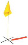 Conterra Triage Flag Kit, Red, Yellow, Green, 3 Bases