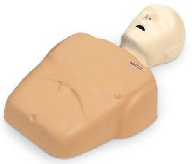 Nasco CPR Prompt<sup>®</sup> Training and Practice Manikins, Adult/Child Single Manikin, Tan