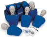 Nasco CPR Prompt<sup>®</sup> Training and Practice Manikins, Adult/Child 5-pack, Blue