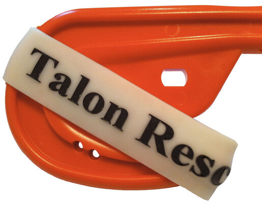 Talon TRECK+ Emergency Clothing Knife with O2 Wrench, Orange