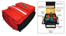 Thomas EMS Advanced ALS Pack Ultra, Red