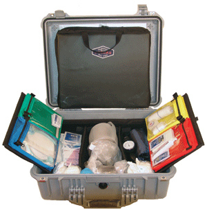 Thomas EMS Airway Hard Carry Case, Gray