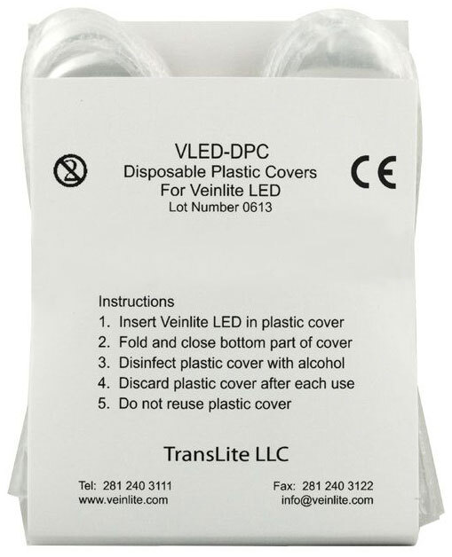 Covers for Veinlite<sup>®</sup> LED Handheld Transilluminator, Disposable, Single-use