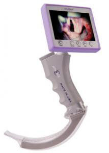 IntuBrite<sup>™</sup> Edge 6610 Handheld Video Laryngoscope, Resuable Video Blade, MacIntosh, Size 2