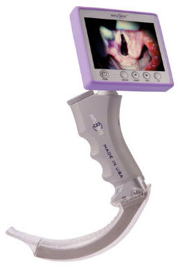 IntuBrite<sup>™</sup> Edge 6610 Handheld Video Laryngoscope with Adult Wand