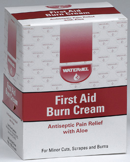 Water-Jel<sup>&reg;</sup> First Aid Burn Cream, Inidividually Wrapped