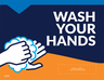 """""""Wash Your Hands"""" Wall/Mirror Decals, 10-pack"""